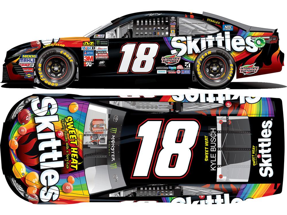 Kyle Busch Racing Car